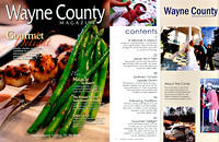 Wayne County Magazine Cover Photo with Credit